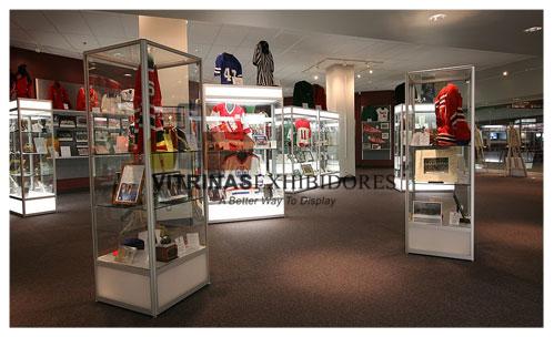 Vitrinas vitrina exhibidores exhibidor mostradores - Muebles para centros comerciales ...