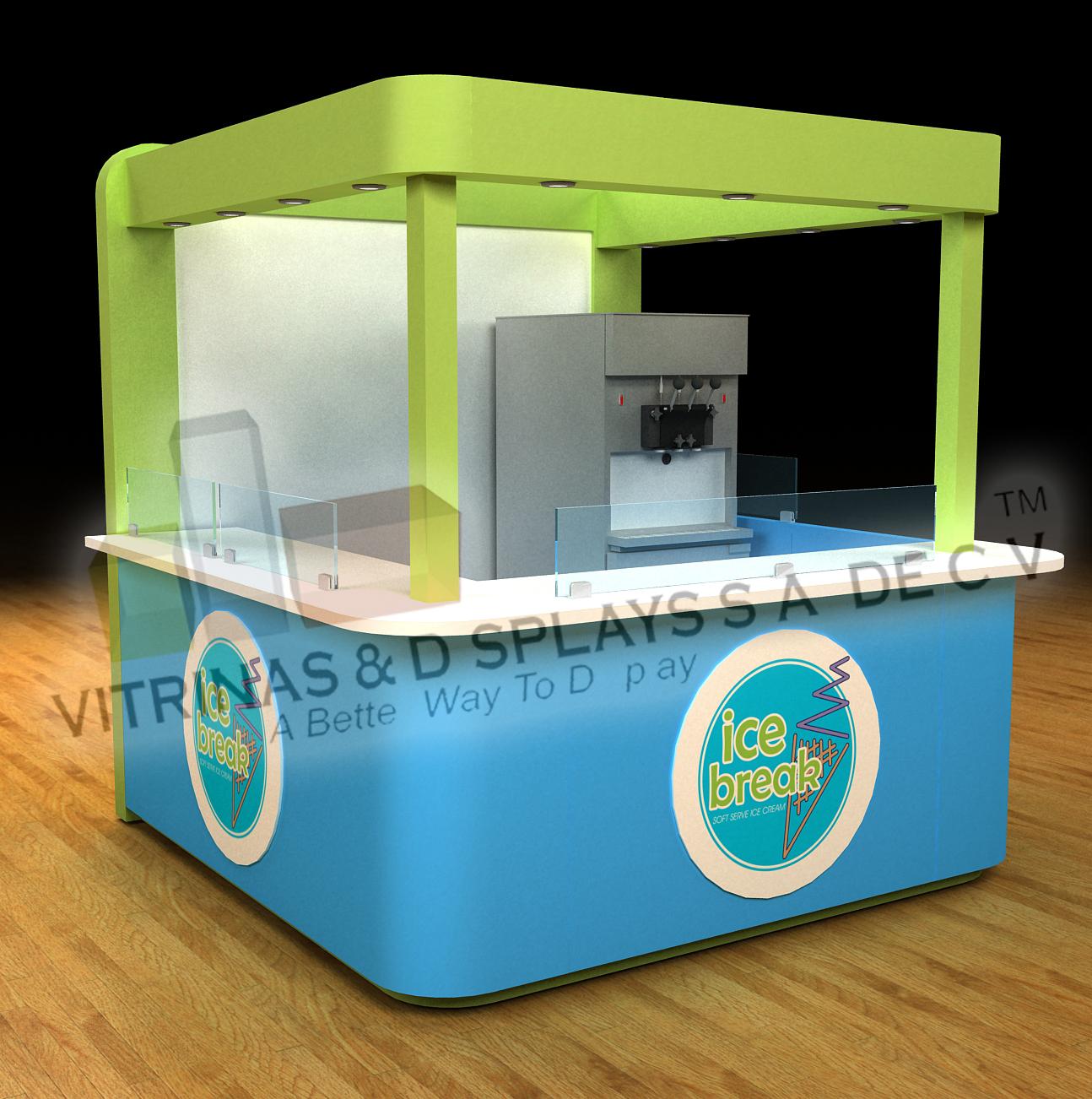 Vitrinas vitrina vitrinas exhibidores exhibidor for Disenos de kioscos de madera
